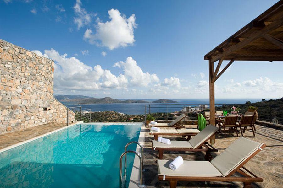 Крит вилла отдых дом за рубежом с фото