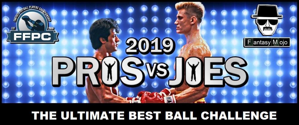 2019 Pros vs Joes