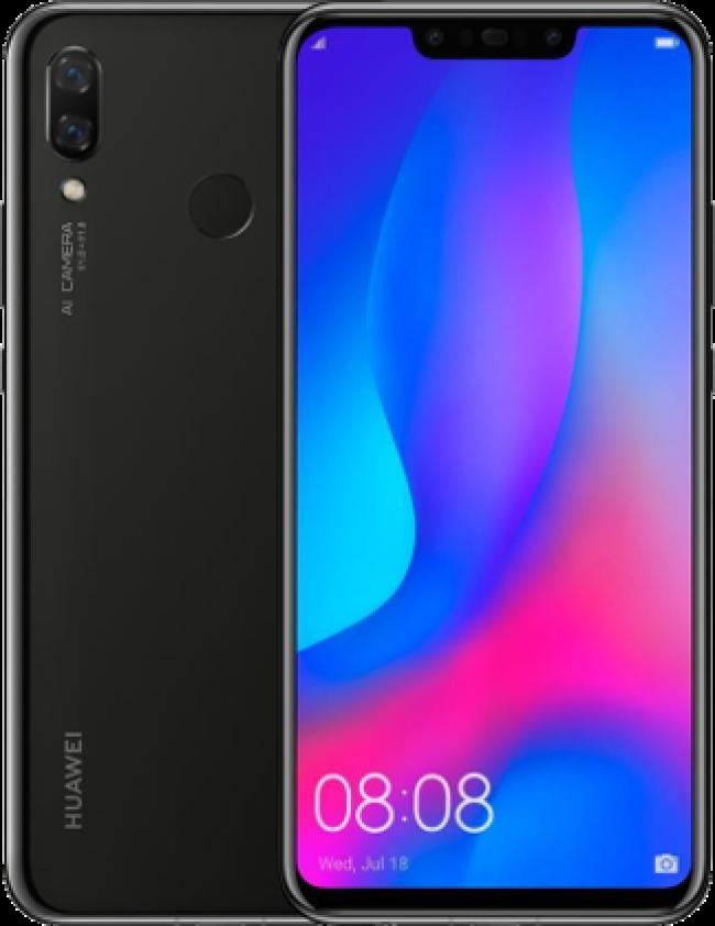 Huawei Nova 3 128GB Black Dual Sim Smartphone PAR-LX1M - Feeh la