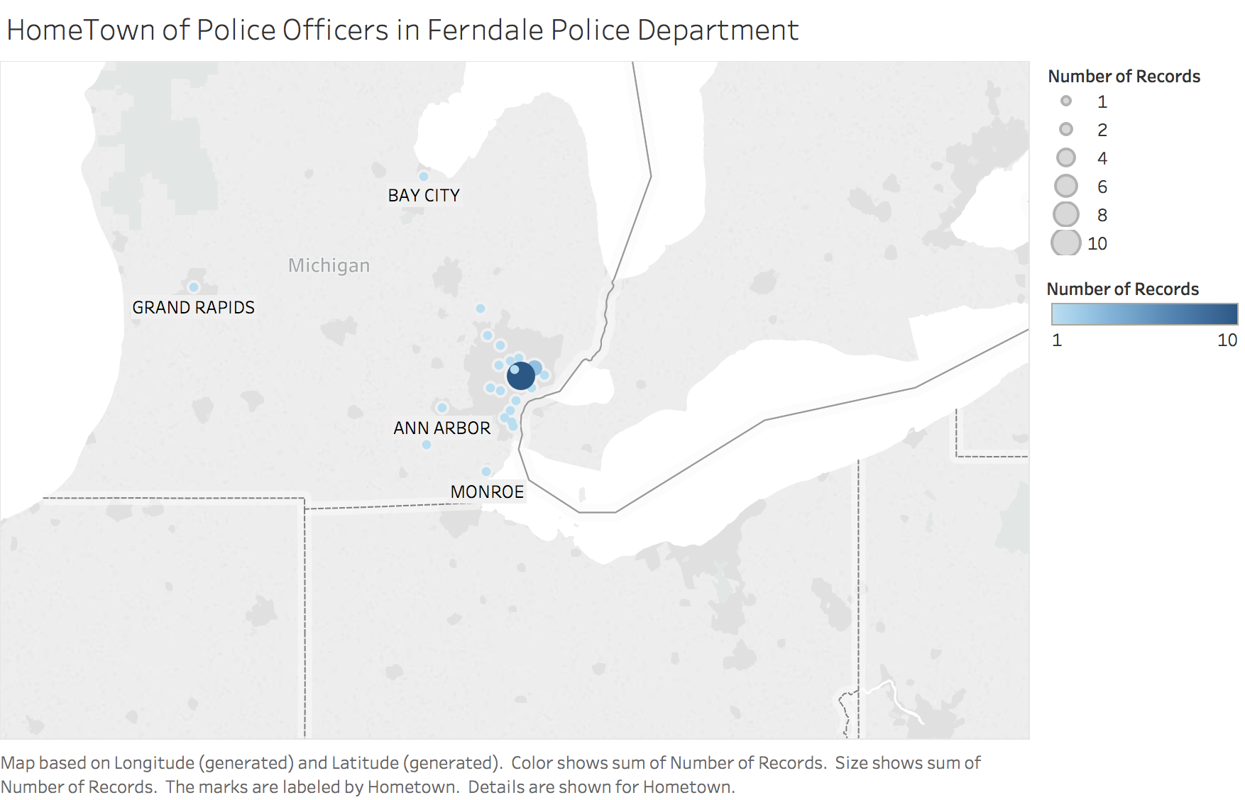 Ferndale Michigan Map.City Of Ferndale Mi Open Data Portal Ferndale Police Demographics