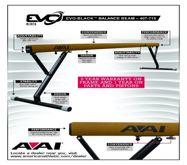 EVO-Black Balance Beam Flyer