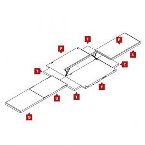 FIG Competition Balance Beam Landing Mat Configuration