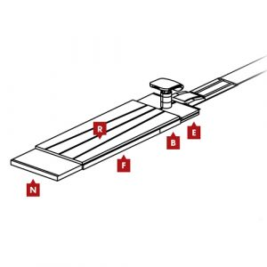 FIG Competition Vault Landing Mat Configuration