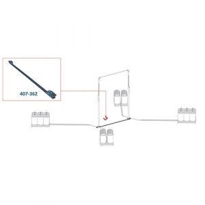Elite Freestanding Horizontal Bar Adapter