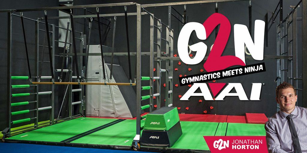 G2N Gymnastics meets Ninja with Jonathan Horton.