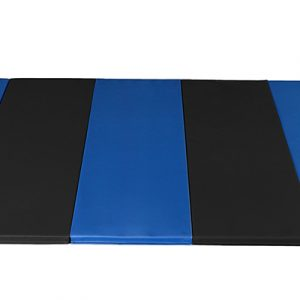 AAI Cheer Royal & Black Panel Mat