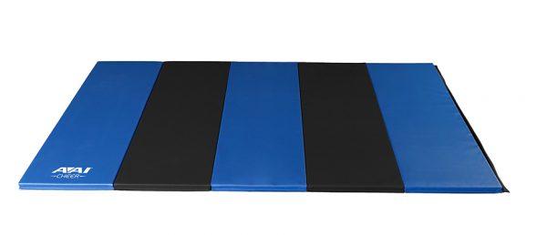 AAI Cheer Royal & Black Panel Mat