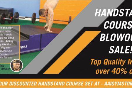 Handstand Course Blowout Sale!