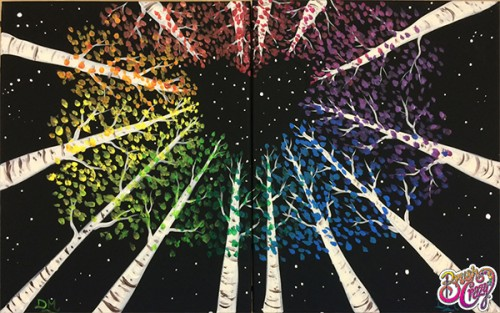 Aspen Rainbow Night