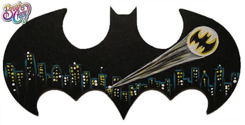 Batman Signal Cutout