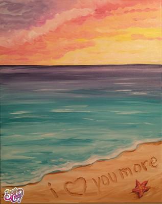 Beach I Love You More