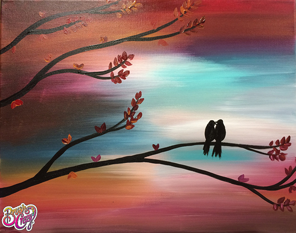 A work of art created by our painting class studio in Colorado Springs, CO