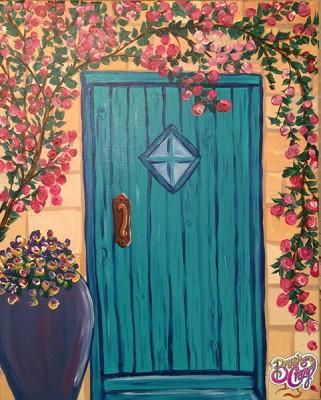 Door in Turquoise