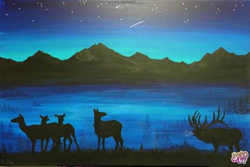 Elk Herd Mountain Mist