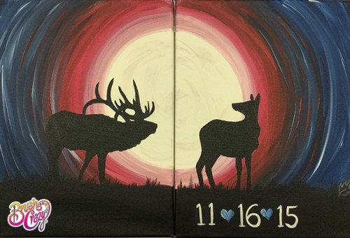 Elk Hunt Full Moon