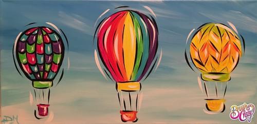 Hot Air Balloon Trio