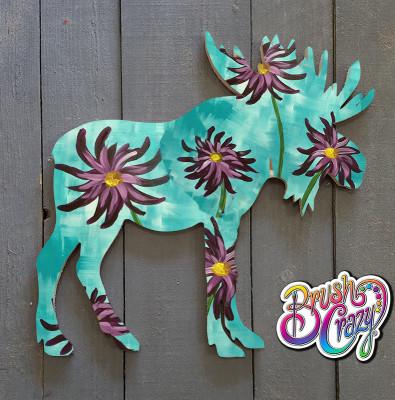 Moose cutout