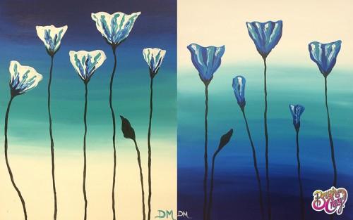 Poppy Pair in Blue