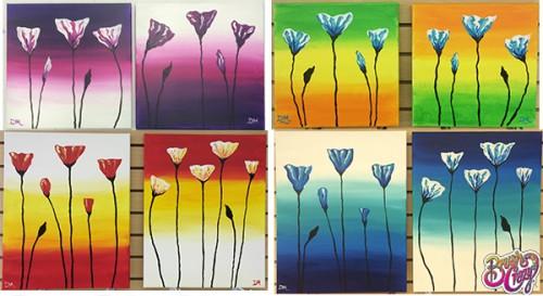 Poppy Pair collage