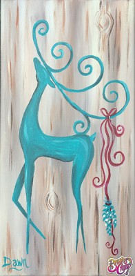 Prancer in Turquoise