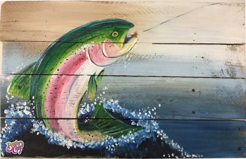 Trout Rainbow Splash