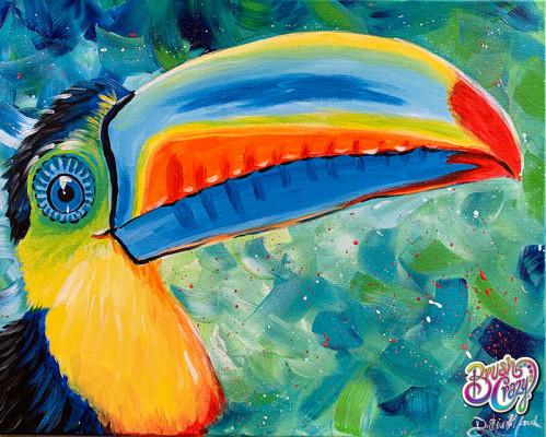 Toucan Splatter