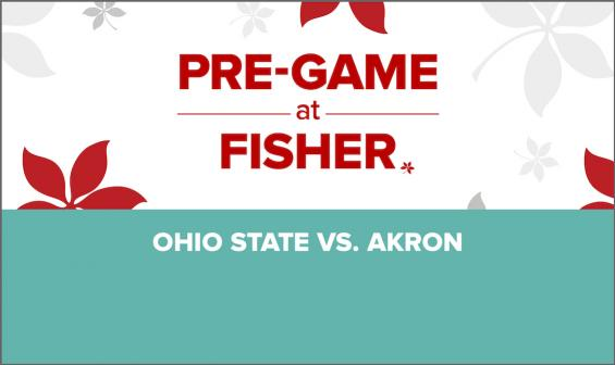 Pre-Game at Fisher: Ohio State vs. Akron