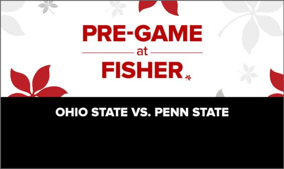 Pre-Game at Fisher: Ohio State vs. Penn State