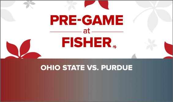 Pre-Game at Fisher: Ohio State vs. Purdue
