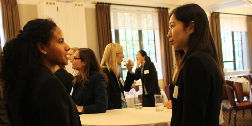Students meet with Professionals