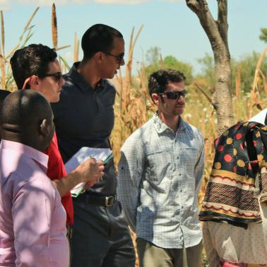 MBA team consulting in Africa