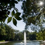 OSU Campus Mirror Lake