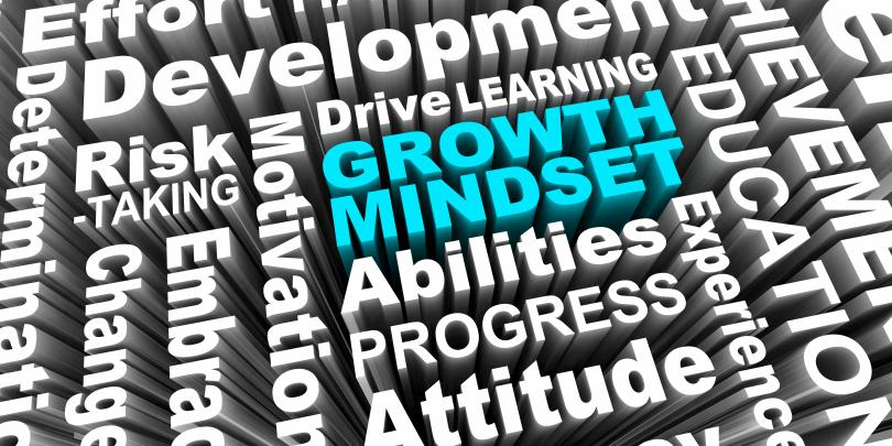 """graphic with words """"growth mindset"""""""