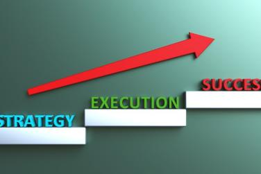 strategy and execution flow chart