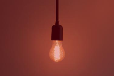 Hanging Edison Lightbulb On
