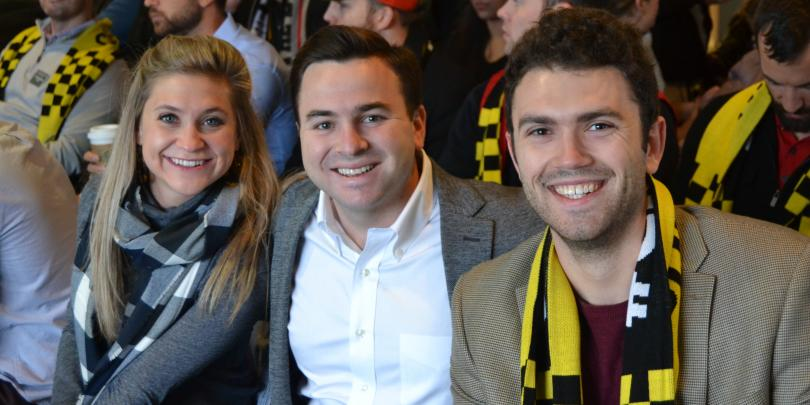 FTMBA students at the Columbus Crew Integration Friday event