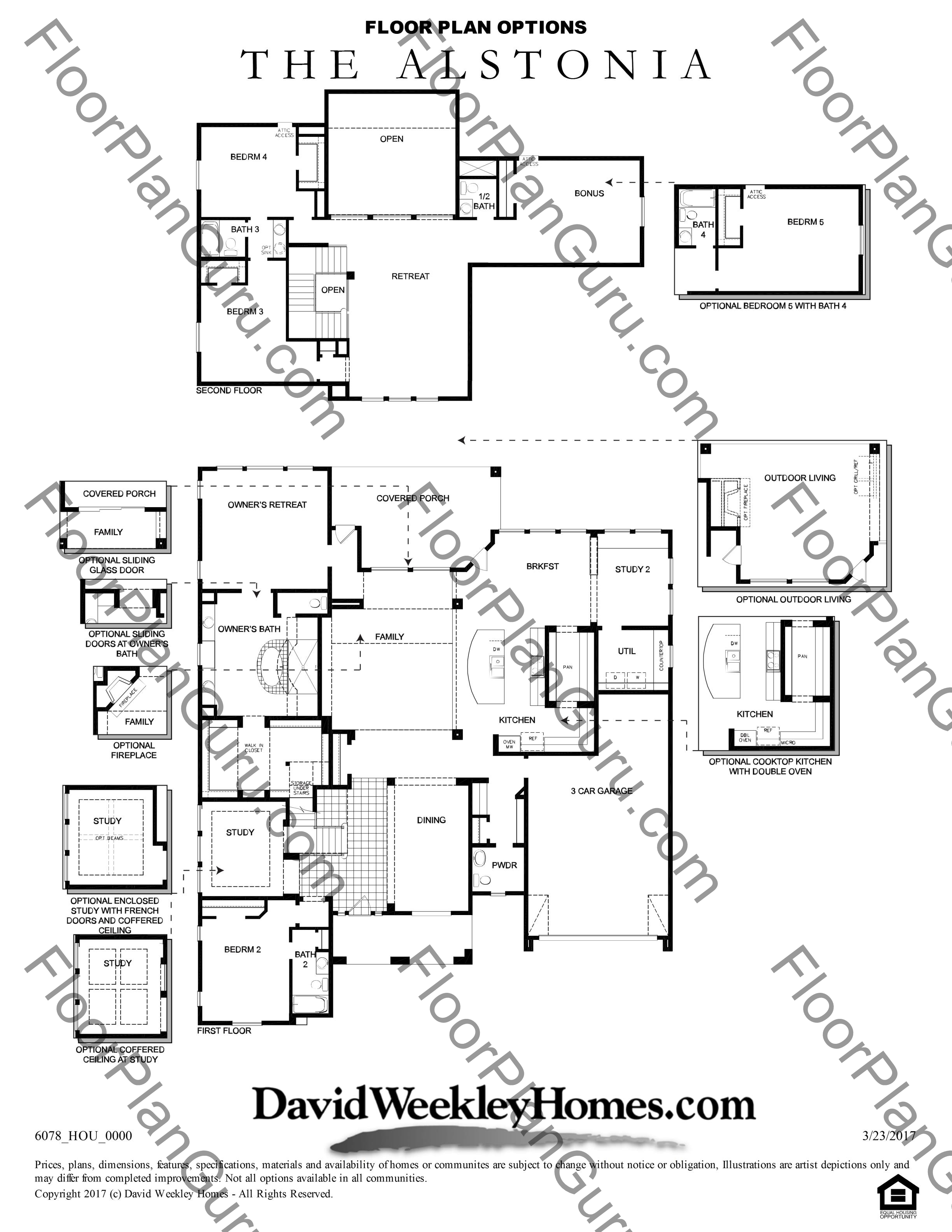 The Alstonia Floorplan By David Weekley Homes Build On Your Lot Central In Houston Texas Welcome To Floorplanguru Com