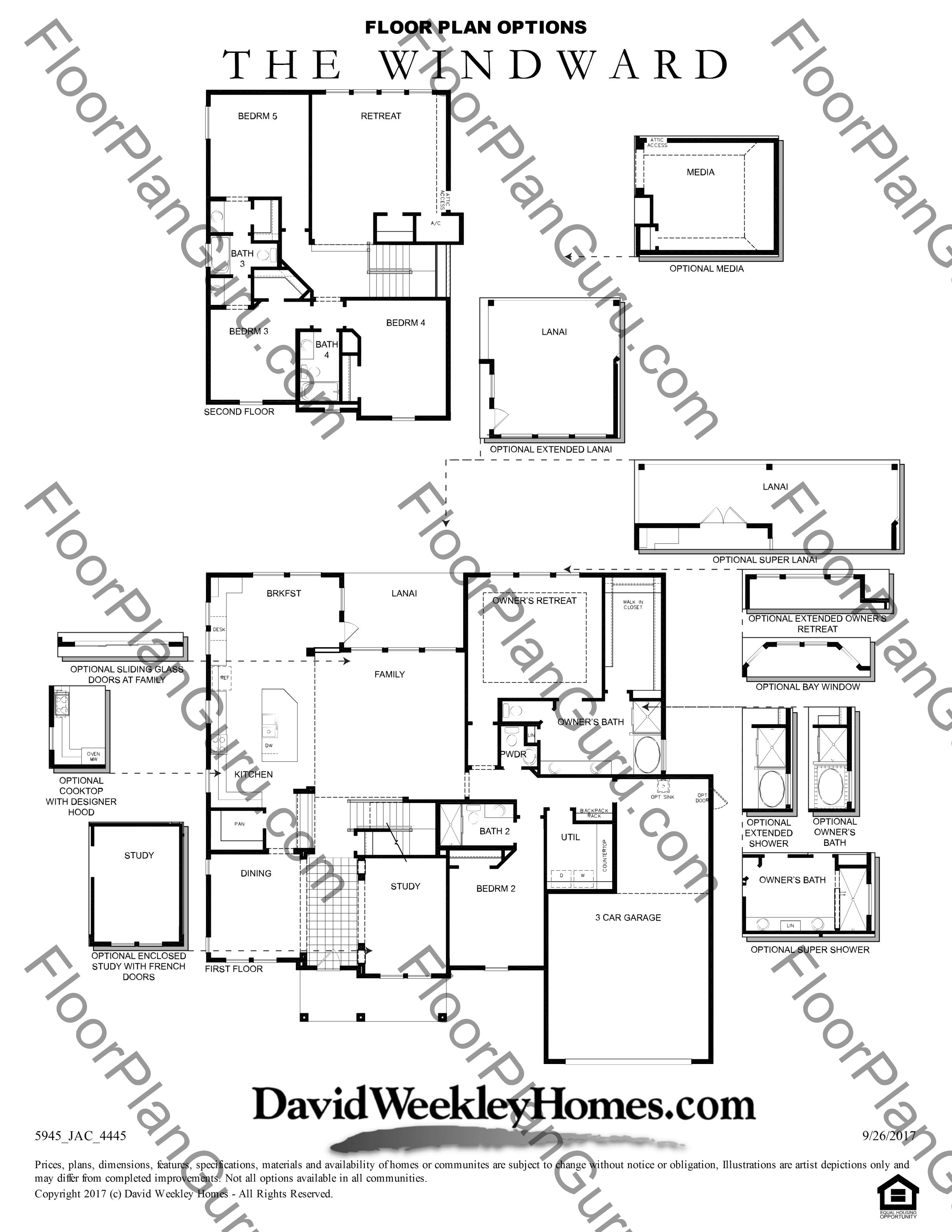 The Windward Floorplan By David Weekley Homes Oxford Estates In Jacksonville Florida Welcome To Floorplanguru Com