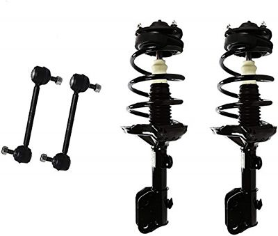 4pc Front Struts & Sway Bar Links for 2005-2007 Honda Odyssey 3.5L