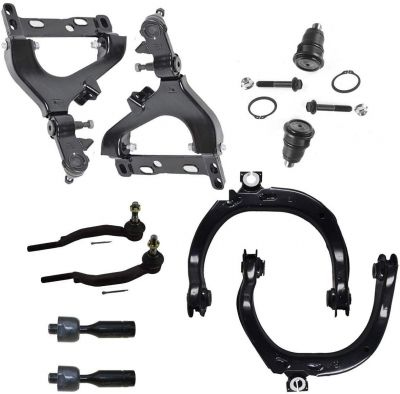 10pc Front Suspension Kit Kit for 14mm Tie Rod Version