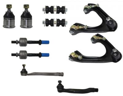 10pc Front Upper Control Arm Lower Ball Joint Kit | 90-93 Honda Accord