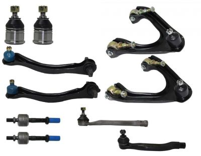 10pc Front & Rear Upper Control Arm Ball Joint Kit 90-93 Honda Accord