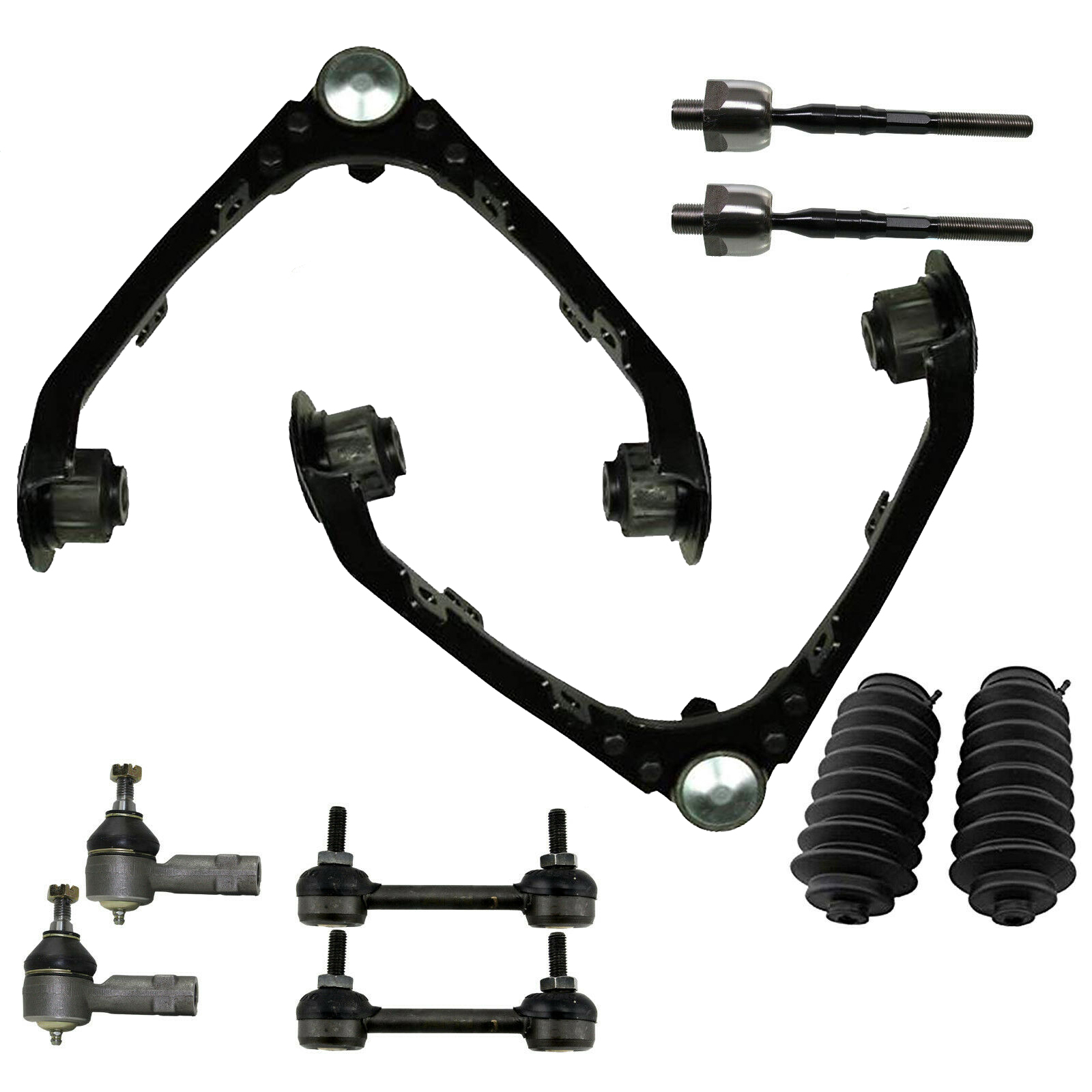 10PC Front Suspension Kit w/16mm Threads for 2WD Models EXCLUDING Z71