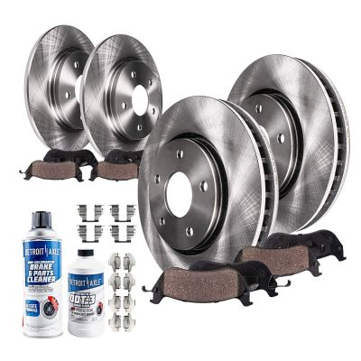 Front and Rear Brake Rotor w/Ceramic Pad - Touring (Wagon) Models