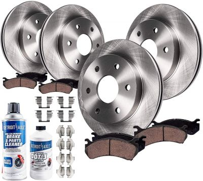 Front and Rear Brake Rotors and Pads for 2003-06 Ford Expedition/ Lincoln Navigator | 10PR1700037