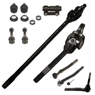 Front CV Axle Shafts Suspension Kit for 4x4 Dana 60 Axle