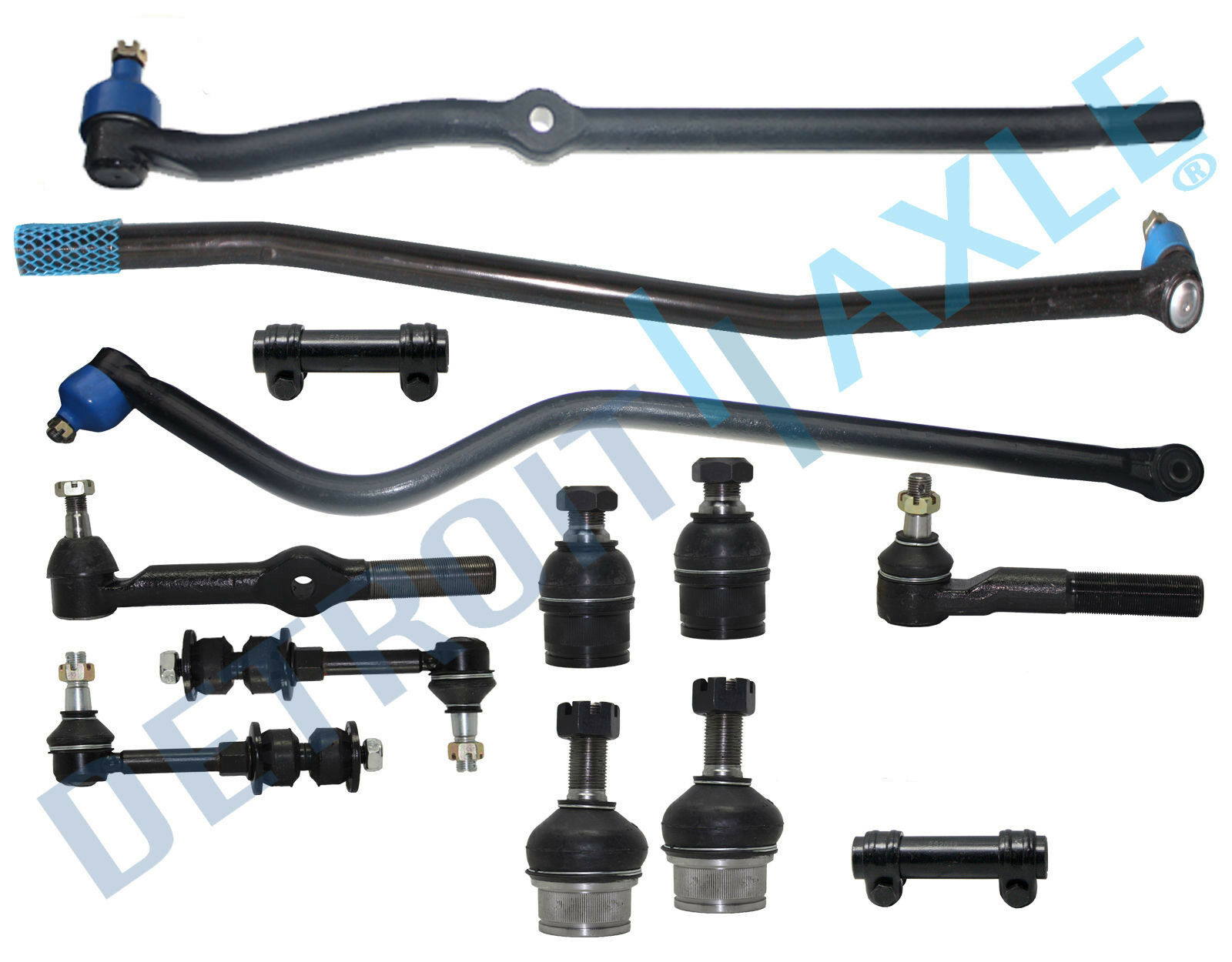 Front Suspension Ball Joints Kit For Dodge Ram 1500