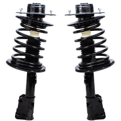 Pair (2) Front Ready Struts w/Coil Spring Assemblies - Left and Right