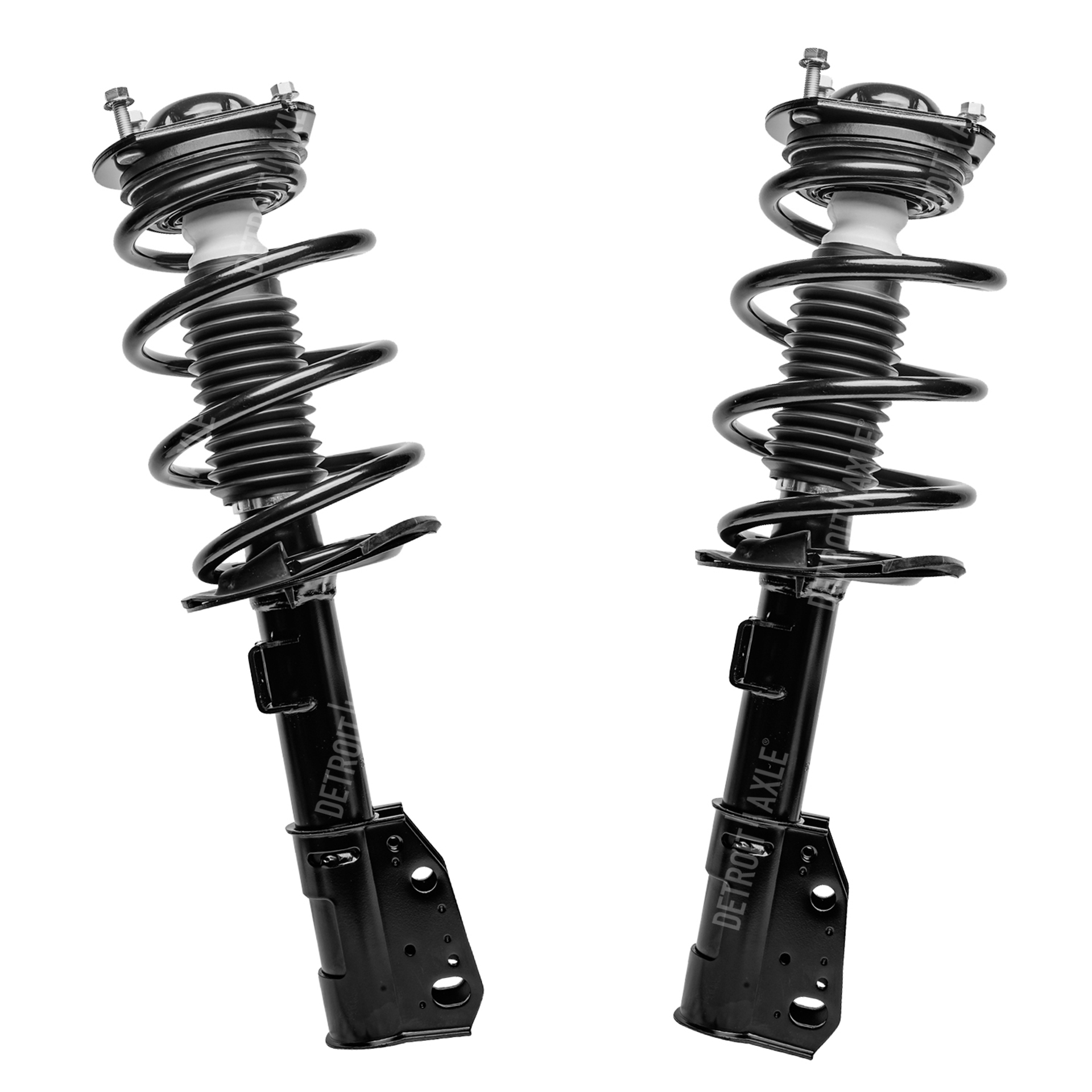 Front Quick Complete Struts /& Coil Spring Assemblies Compatible with 2007-2012 GMC Acadia Pair