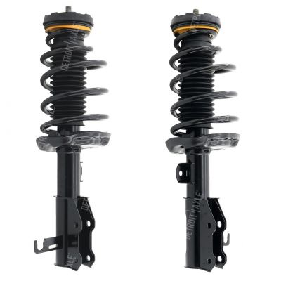 Pair Front Struts w/ Coil Spring Assembly for Buick Chevy - See Fitment